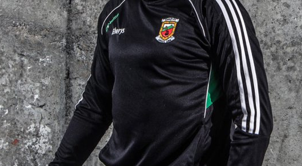 New role: Barry Moran now playing in front of the full-back line in one of the tweaks made by the new Mayo management team of Pat Holmes and Noel Connelly
