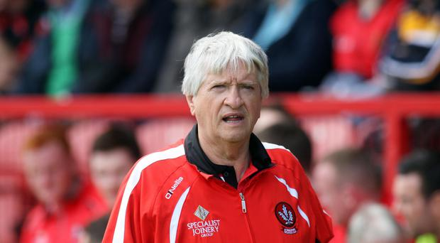 New role: Brian McIver is now Derry's Director of Football