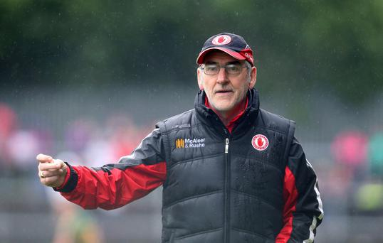 New generation: Mickey Harte is giving young guns a chance