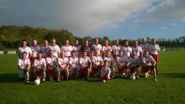 The Tyrone masters team