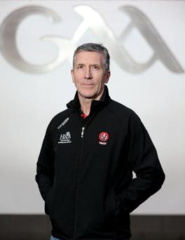 In the hotseat: Damien Barton takes his first step in inter-county management