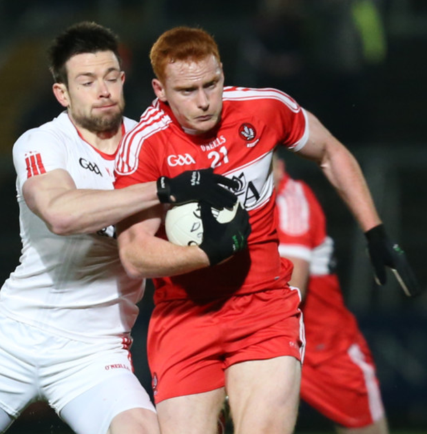 Fine game: Conor McAtamney shone against Tyrone