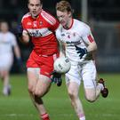 Clear aims: Hugh Pat McGeary wants to impress Tyrone boss Mickey Harte and help achieve promotion to Division One