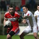 Big gun: Ryan Bell's physical strength and accurate shooting give beleaguered Derry hope in league run-in