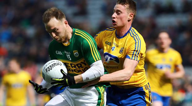 To the fore: Darran O'Sullivan played a major role in Kerry's march into the league decider