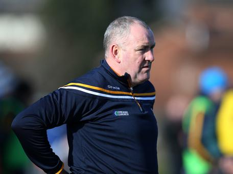 Antrim joint manager Frank Fitzsimons