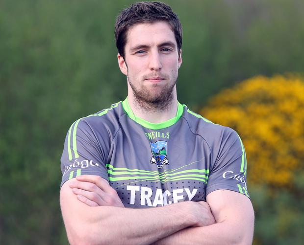 Midfield dynamo: Eoin Donnelly is seen as the heartbeat of the Fermanagh side