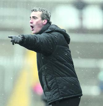 Reaching high: Jim McGuinness has worked wonders with Donegal