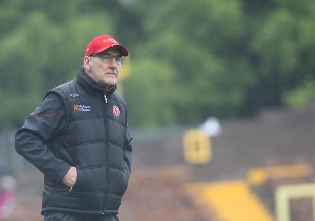 Fair play: Mickey Harte was full of praise for opponents Cavan