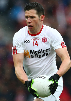 Star man: boss Mickey Harte paid tribute to Tyrone's Sean Cavanagh