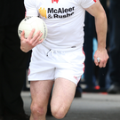 Captain marvel: Sean Cavanagh will lead the Red Hands into the Ulster Championship final against old rivals Donegal