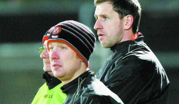 Focused: Derry coach Brian McGuckin refuses to look beyond Saturday's clash with Tipperary