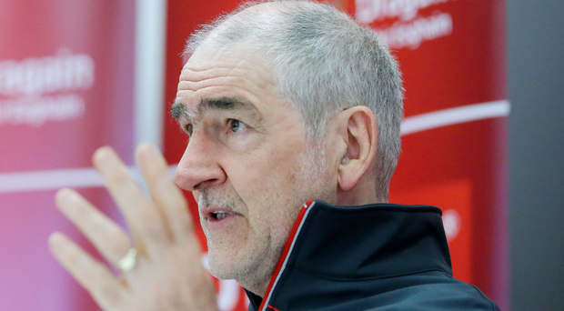 Still going strong: Mickey Harte won the Ulster crown in his 25th year at the helm of a Tyrone county side