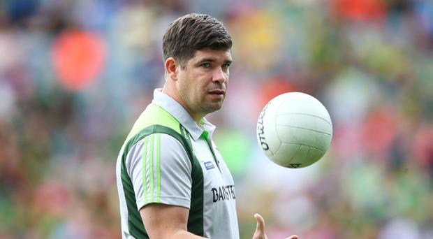 Tight-lipped: Eamonn Fitzmaurice refused to be drawn on hot topics