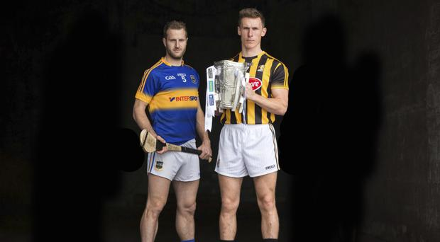 Up for the Cup: Tipperary's Kieran Bergin and Kilkenny's Cillian Buckley will be aiming to inspire their side to a McCarthy Cup triumph
