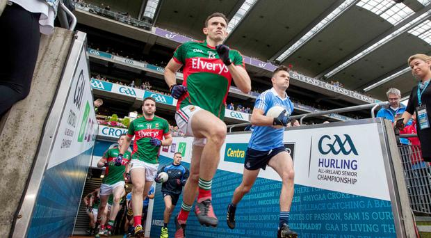 Going again: Mayo and Dublin will sell out Croke Park for the second time in a fortnight