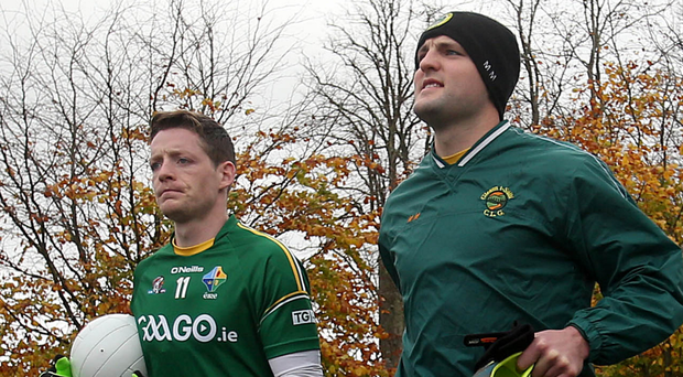 Missing out: Conor McManus (left) and Michael Murphy