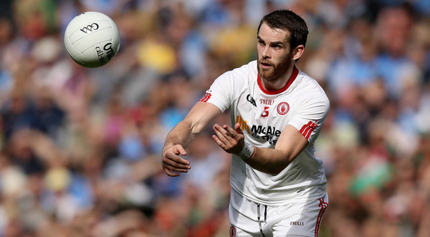Future plans: Ronan McNamee is tempted by life in Australia, but for now he's committed to the Tyrone cause