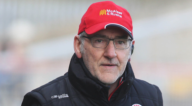 Big ask: Mickey Harte knows the odds are against Tyrone