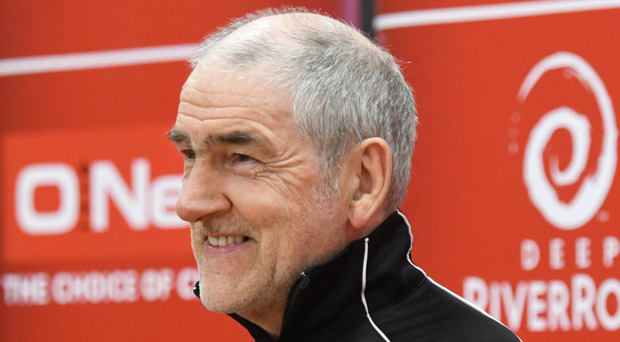 Diligent: Mickey Harte says his players are tested regularly