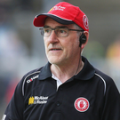 Sad loss: Tyrone boss Mickey Harte has paid tribute to Dominic Earley