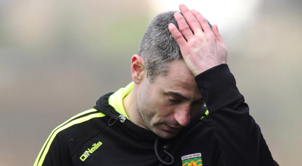 Learning curve: Rory Gallagher is having ups and downs with his young Donegal side