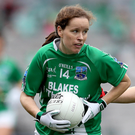 Influential role: Sharon Murphy of Fermanagh helped inspire her side to All-Ireland Ladies Junior Football success