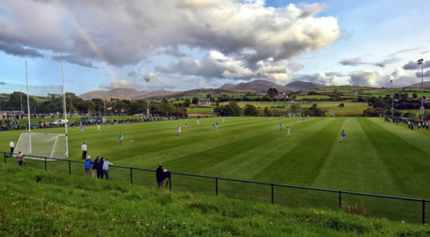 Homegrown success: Kilcoo's home in the shadow of the Mournes