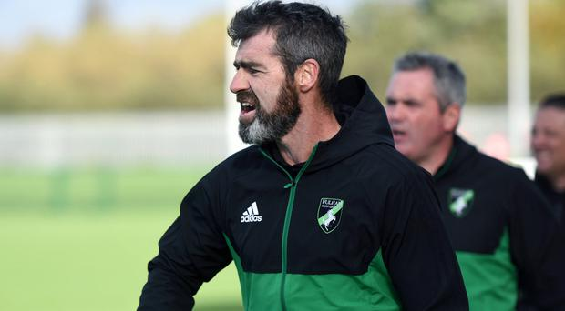 In charge: Down All-Ireland winner Gregory McCartan has flourished at the helm of Fulham Irish