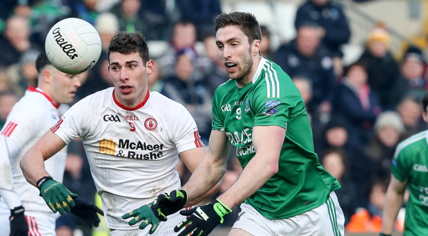 Chase is on: Fermanagh's Eoin Donnelly