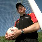 On the ball: Diarmuid Marsden believes Kieran McGeeney has some tough calls to make
