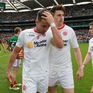 Frustrating time: Tyrone ace Tiernan McCann broke his kneecap against Kildare
