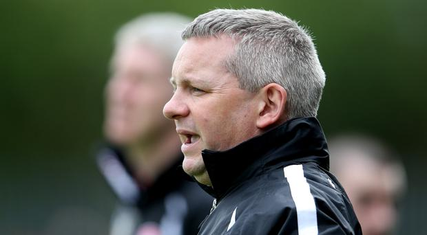 Huge game: Derry U-20 manager Mickey Donnelly