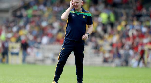 Great form: Declan Bonner's Donegal have won last three games in style