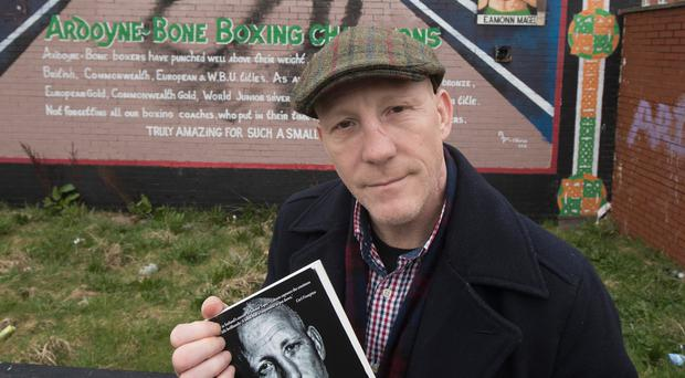 Brought to book: Eamonn Magee with his award-winning autobiography