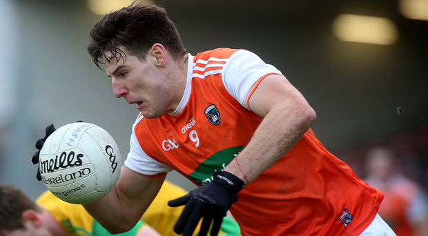 Looking forward: Niall Grimley is sure Armagh are on the up
