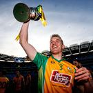 Champions: Corofin's Kieran Fitzgerald with All-Ireland trophy