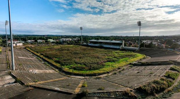 Sorry sight: Casement Park left to crumble after redevelopment plans hit snag