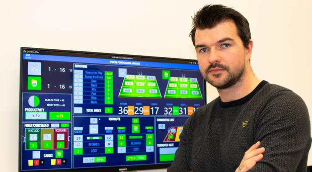 Facts and figures: Derryman Johnny Bradley crunching the numbers for RTE