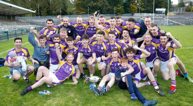Prize guys: Derrygonnelly Harps are eyeing fifth straight county title