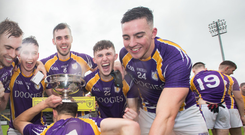 Five-star: Derrygonnelly celebrate another Fermanagh title win