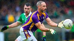 Hanging in there: Derrygonnelly's Kevin Cassidy is still going strong at the age of 44