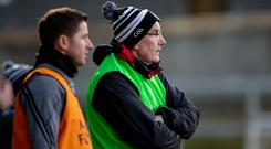 In charge: Kilcoo manager Mickey Moran is aiming for Ulster glory