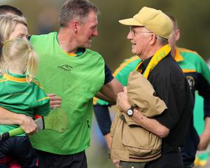Clear mission: Dunloy manager Gregory O'Kane is keen to seal Antrim success