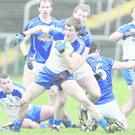 Action from Sunday's McKenna Cup clash between Cavan and Monaghan