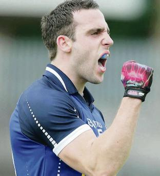 Fired up: Eugene Keating is on a mission against Roscommon