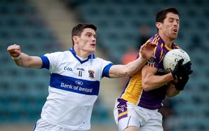 Clubbing in: St Vincent's Diarmuid Connolly takes on Rory O'Carroll of Kilmacud Crokes