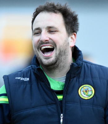 High spirits: Down native Steven Poacher is enjoying his role as coach and selector with Carlow