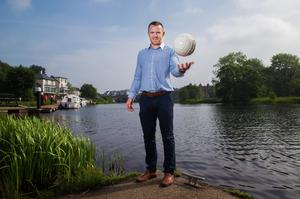 On a mission: Marty McGrath is gunning for Fermanagh title glory at long last