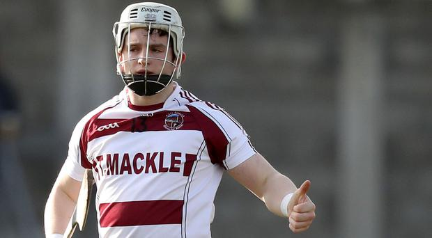 High hopes: Cormac O'Doherty has a first All-Ireland Club final in his sights